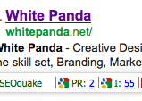 White Panda Google PR 2